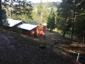 Camp facilities at Groundswell retreat center in northern california