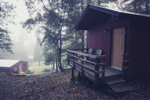 Cabins at Groundswell by Kegan Marling