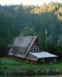 a-frame-in-the-morning-at-groundswell-ecovillage-and-retreat-center