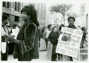 Marsha P. Johnson at another rally