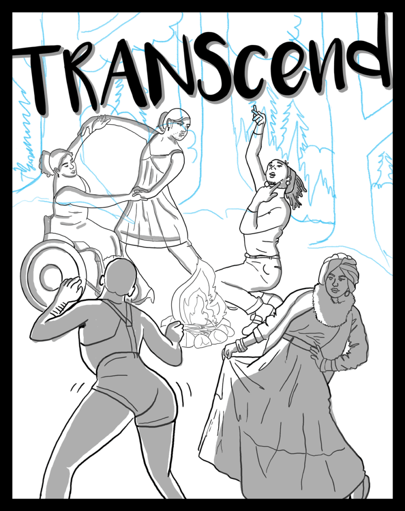 transcend transgender and genderqueer retreat groundswell poster