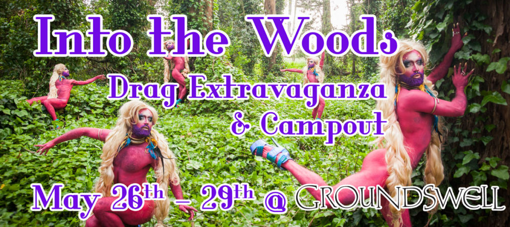 into-the-woods-drag-party-and-campout-banner